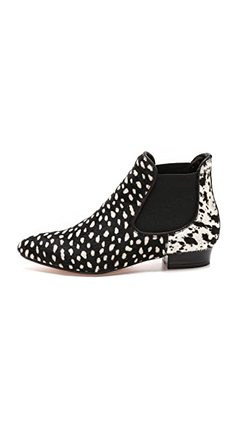 WHIT + Jacques Levine Harrison Haircalf Booties