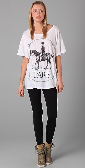 Wildfox Paris Pony Tee