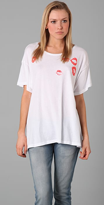 Wildfox Lipstick Traces Tee
