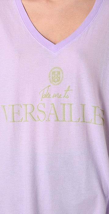 Wildfox Take Me to Versailles Oversized Tee