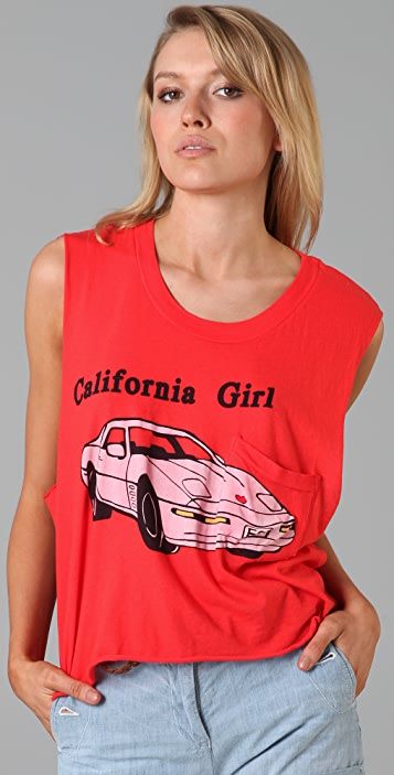 Wildfox California Girl Crop Tank