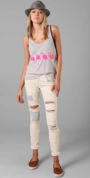 Wildfox Flamingo Tank