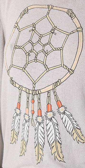 Wildfox Dream Weaver Baggy Beach Sweatshirt