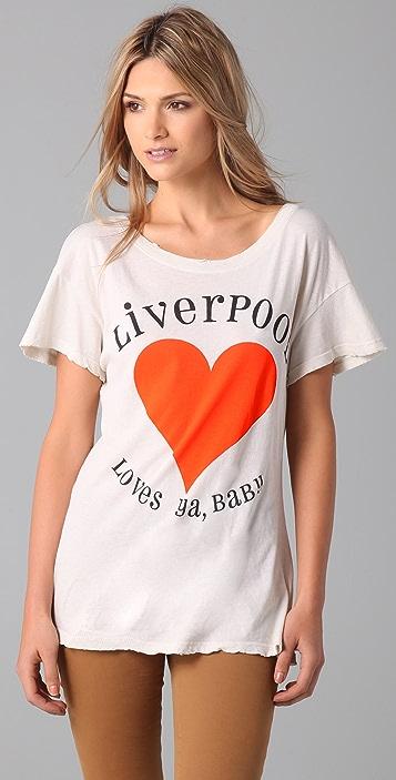 Wildfox Liverpool Hippie Tee