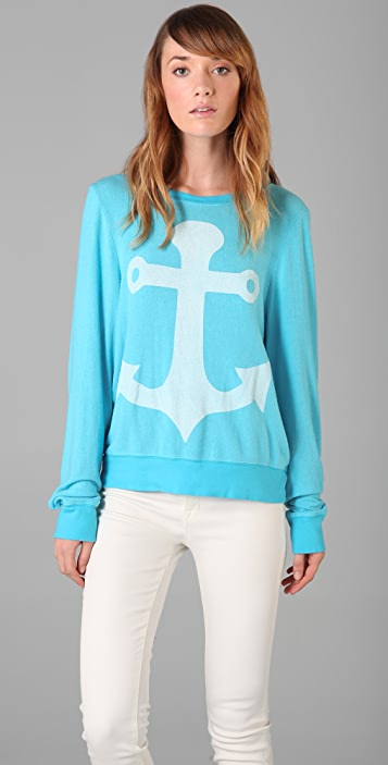 Wildfox Cruise Baggy Beach Sweatshirt