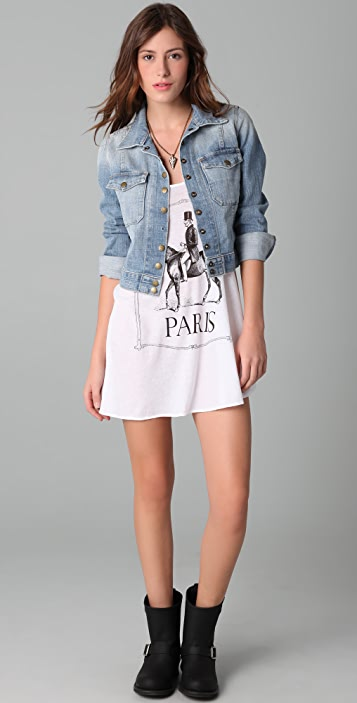 Wildfox Polo Pony Slip Dress