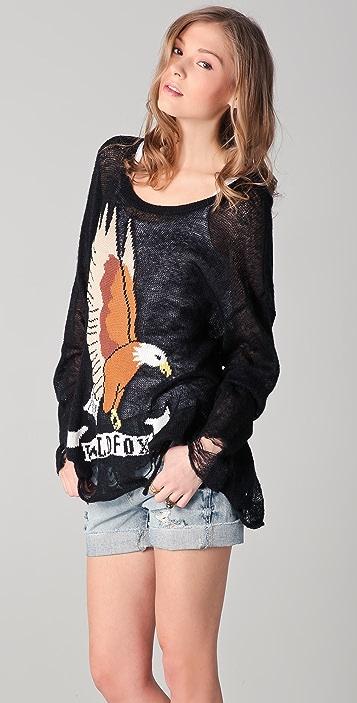 Wildfox Wildfox White Label Eagle Sweater