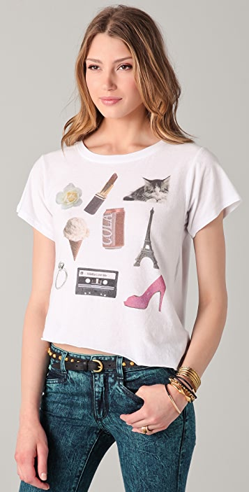 Wildfox Wildfox White Label My Favorite Things Tee