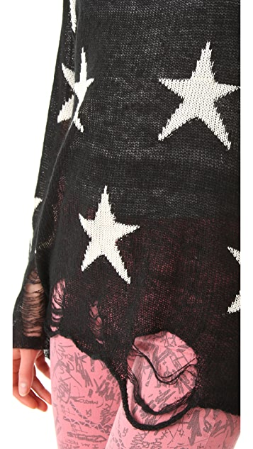 Wildfox Wildfox White Label Seeing Stars Lennon Sweater