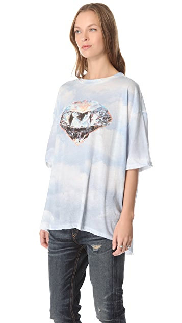 Wildfox Diamond in the Rough Tee