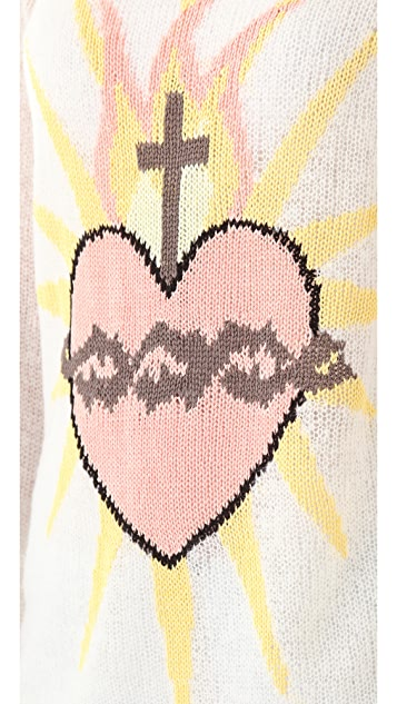 Wildfox Sacred Heart Sweater