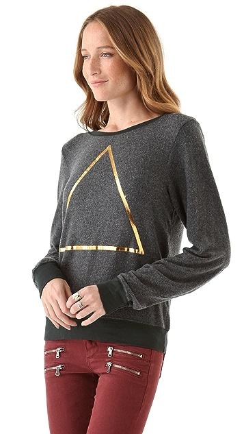 Wildfox Triangle Beach Sweatshirt