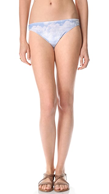 Wildfox Cupid Cloudy Sky Bikini Briefs