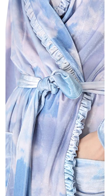Wildfox Cloudy Sky Short Robe