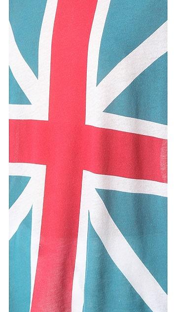 Wildfox Union Jack Tissue Tee