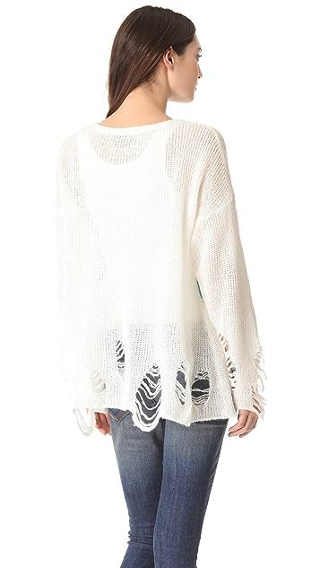 Wildfox Rainbow Dreamer Lennon Sweater