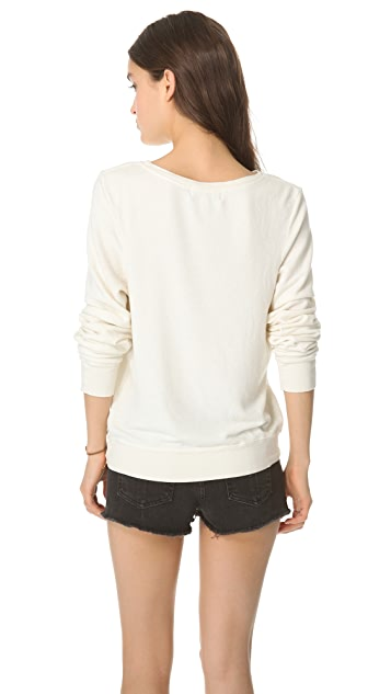 Wildfox LA Skyline Baggy Beach Sweatshirt