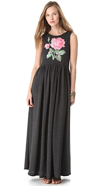 Wildfox Valley Rose Maxi Dress