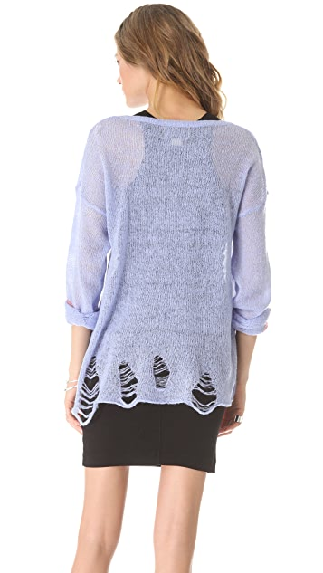 Wildfox Happy Heart Sweater