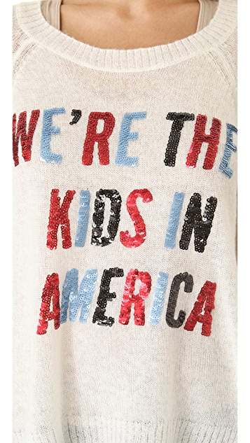 Wildfox American Kids Sweater