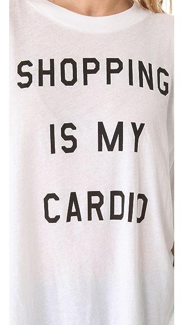 Wildfox Shopping is My Cardio Tee
