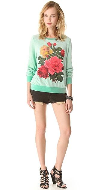 Wildfox Barrymore Baggy Beach Sweatshirt