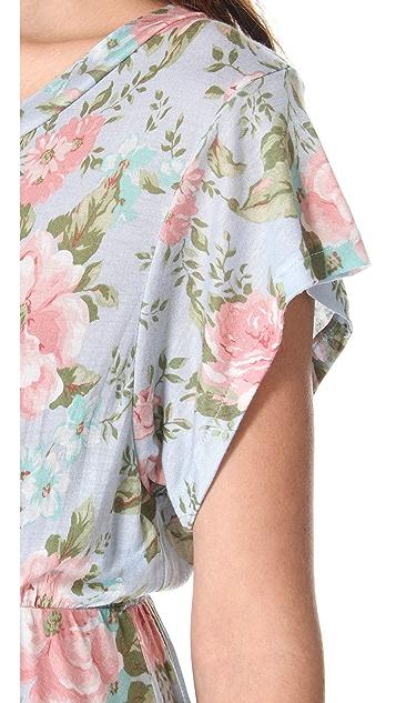Wildfox Grunge Rose Print Dress