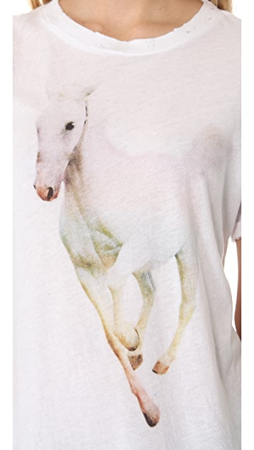 Wildfox Rainbow Pony Tee