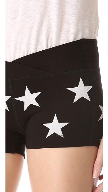 Wildfox Jazzercise Stars Shorts