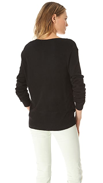 Wildfox Love Skull Sweater
