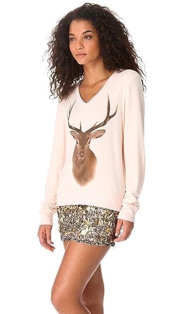 Wildfox Hunt Baggy Beach Sweatshirt