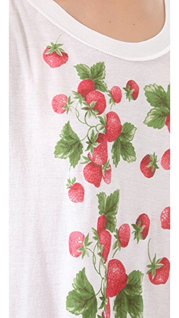 Wildfox Strawberries Tank