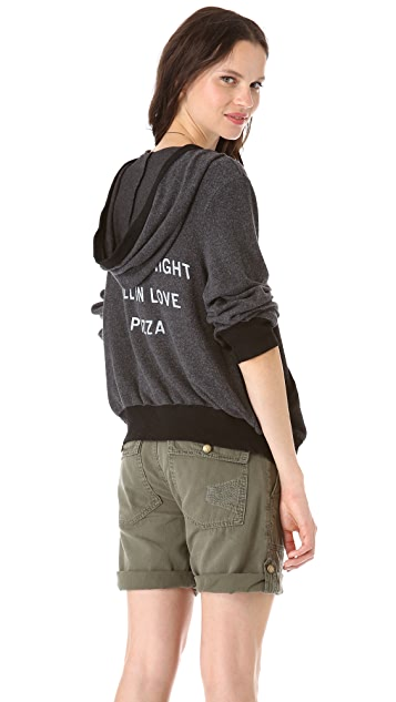 Wildfox Pizza Party Hoodie