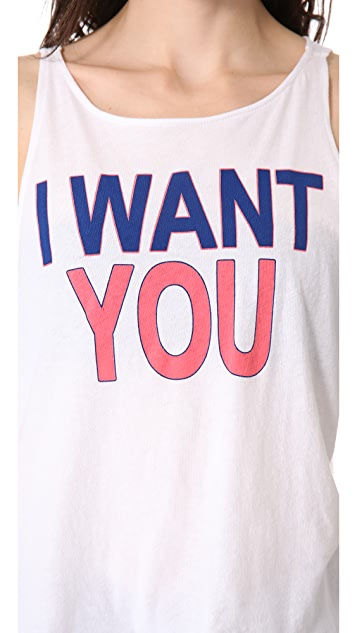 Wildfox I Want You Tank