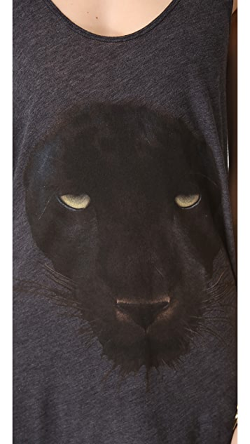 Wildfox Black Panther Tank
