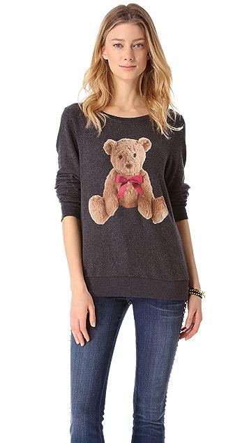 Wildfox My Roommate Beach Sweatshirt