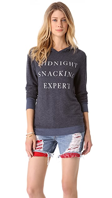 Wildfox Midnight Snacking Expert Hoodie