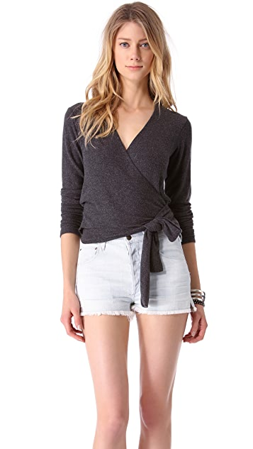 Wildfox Grease Wrap Top