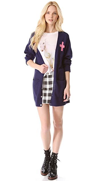 Wildfox Love Saves Lives Cardigan
