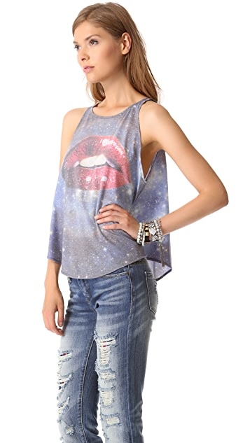 Wildfox Kissing Under The Stars Tank