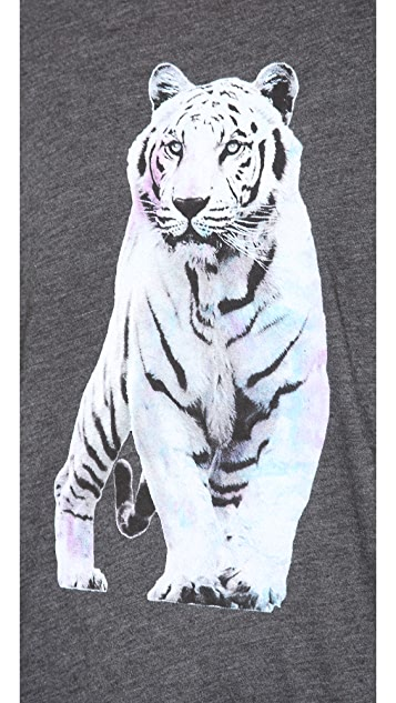 Wildfox Shine Bright Tiger Tee