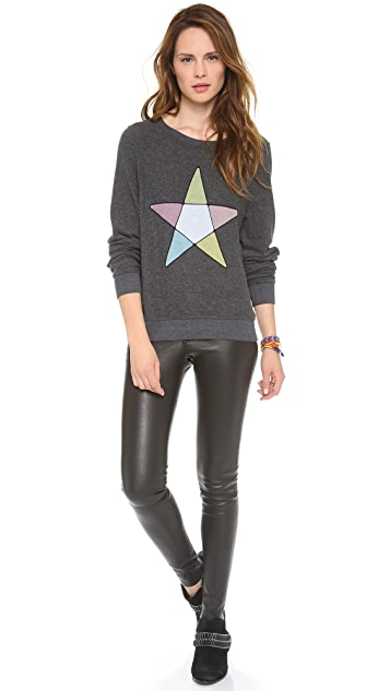 Wildfox Ice Witch Baggy Beach Sweatshirt
