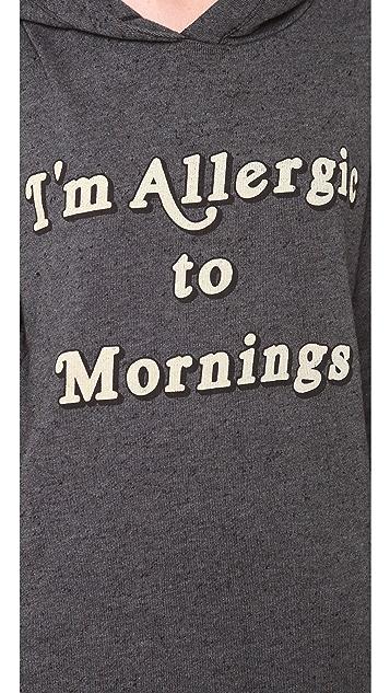 Wildfox Morning Allergies Hoodie