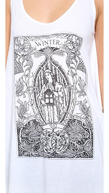 Wildfox Mother Winter Tank