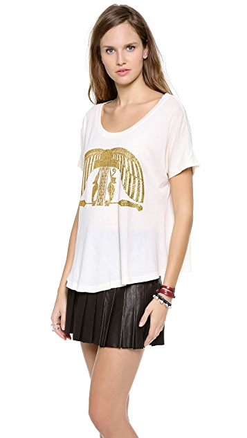 Wildfox Egypt Etchings Tee