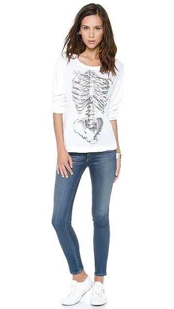 Wildfox Daisy Bones Tee