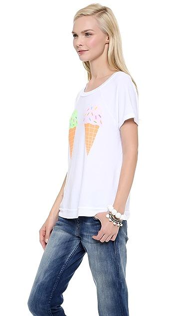 Wildfox We Dream of Ice Cream Top