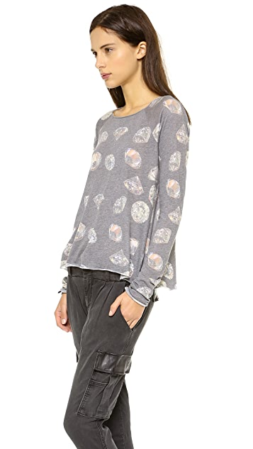 Wildfox Forever Raglan Top