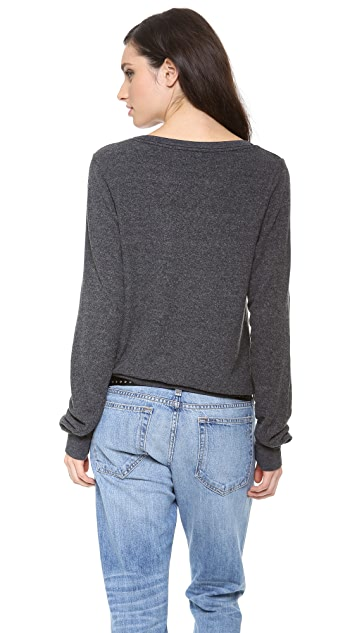 Wildfox Made In Heaven Baggy Beach Sweatshirt