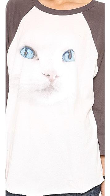 Wildfox White Cat Tee